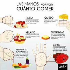 iconografía cuanto comer segun tu mano 12 tips para comer sanamente 12 tips to eat healthily Healthy food Delicious food Diet Food without calories healthyfoodpreschool is part of Workout food - Healthy Tips, Healthy Snacks, Healthy Recipes, Eat Healthy, Weight Loss Meals, Losing Weight, Comidas Fitness, Balanced Diet Plan, Clean Eating Snacks