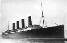 In 1915, a year into World War I, the German U-boat U-20 sunk a British ocean liner the off the coast of Ireland.