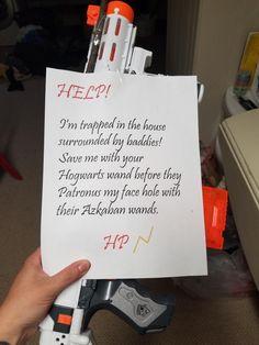 Este pedido de casamento com tema de Harry Potter é hilário