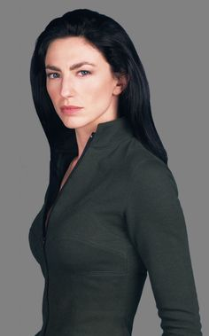 Claudia Black. So gorgeous And she has that sexy brittish thing going for her too.