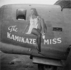 "B-24 Liberator Bomber ""The Kamikaze Miss"""