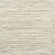 Grasscloth Wallpaper in Grey and Ivory design by York Wallcoverings