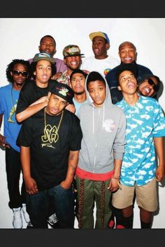 Odd Future (Wolf Gang Kill Them All) aka OFWGKTA Alternative rap collective formed by Tyler the Creator featuring break out artists such as Earl Sweatshirt and Domo Genesis. Earl Sweatshirt, Hip Hop Artists, Music Artists, Music Is Life, My Music, Hodgy Beats, Odd Future Wolf Gang, Hip Hop Instrumental, Tyler The Creator
