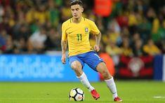 Download imagens Coutinho, Seleção Brasileira, futebol, jogadores de futebol, Philippe Coutinho, Phil Coutinho