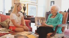 A Conversation with Mary Helen Hosch, WC '35, and Katie Barth, WC '14