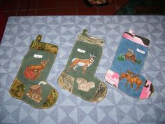 River Nana's Treasures I make/ design and sell Redneck Christmas Stocking.. out of recycled jeans.. would love to make you one .