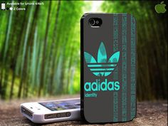 Adidas Blue Finger Print Design For iPhone 5 / 4 / by SidePucket, $15.89