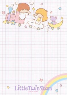 https://flic.kr/p/JJpnEV | Sanrio Little Twin Stars Memo (2014)