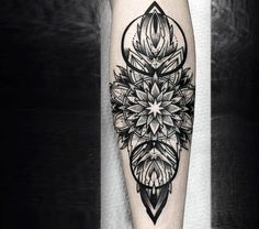 mandala tattoo by otheser tattoo