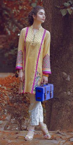 Pakistani Street Style featuringbrand Sapphire.