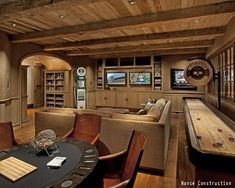 Every man cave needs a poker table. See 10 other must-have man cave essentials.: