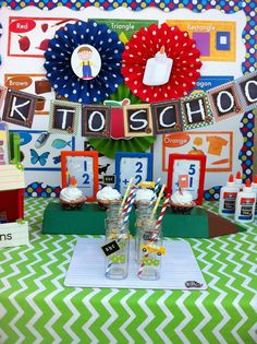 Back to School Party #backtoschool #party
