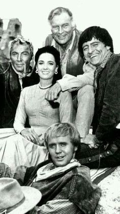 """The High Chaparral"" (TV Series starring Leif Erickson, Cameron Mitchell, Henry Darrow, and Linda Christal. Movies And Series, Tv Series, Tv Vintage, 1960s Tv Shows, Mejores Series Tv, Little Dorrit, The High Chaparral, Vintage Television, Tv Westerns"