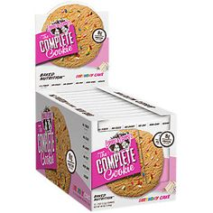 Buy Complete Cookie 2 oz - BIRTHDAY CAKE (12 Cookie(S)) from the Vitamin Shoppe. Where you can buy Complete Cookie 2 oz - BIRTHDAY CAKE and other Lenny & Larrys products? Buy at at a discount price at the Vitamin Shoppe online store. Order today and get free shipping on Complete Cookie 2 oz - BIRTHDAY CAKE (UPC:787692833245)(with orders over $35).
