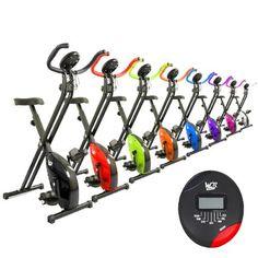 We R Sports X-Bike Vélo d'appartement pliable Blanc: Amazon.fr: Sports et Loisirs