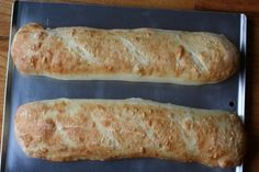 Quick and easy french bread     These are great.