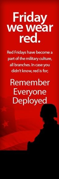RED Friday.
