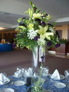 Lilies, Queen Anne's Lace, and Callas: Flowers - Designs By Victoria Floral