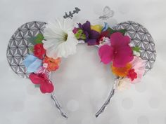 EPCOT Flower & Garden Inspired Mouse Ears Headband by EarsComeTrue