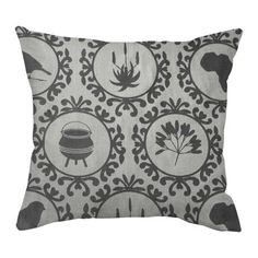 Icons of Africa Cover – Duck Egg Cotton from Design Team Cushions - (Save Home Decor Shops, Home Decor Items, African Textiles, Fresh Outfits, Tribal Fashion, Interior Design Studio, Earth Tones, Buy Shoes, Best Brand