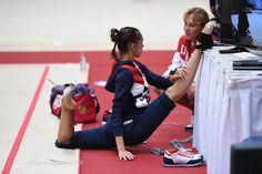 Margarita Mamun (Russia), backstage Olympic Games 2016