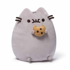 This squishy Pusheen plush is a perfect pal for dance parties and eating all of your favourite treats. We bet she's even willing to share her yummy cookie with you!