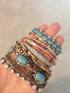Turquoise and mixed metals. CharmingCharlie