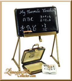 Teachers Blackboard, Briefcase & Book (Beauchamp)