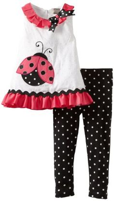 Rare Editions Girls 2-6X Toddler Legging Set:Amazon:Clothing