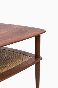 Hvidt & Mølgaard teak side table by France & Søn at Studio Schalling #midcentury #teak