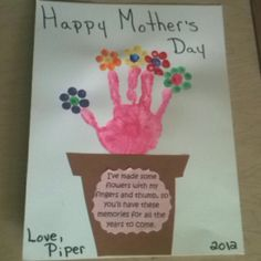 Our Mother's day art.