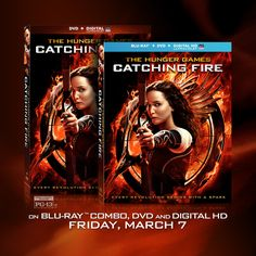 THE HUNGER GAMES: CATCHING FIRE, On Blu-Ray Combo, DVD and Digital HD, Friday March 7.