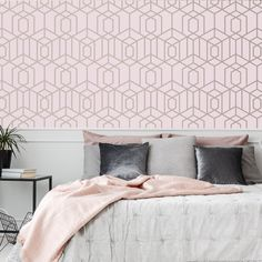 Disco Vogue Pink Wallpaper