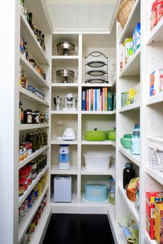 Pretty much exactly what I designed for our pantry in our new house; traditional kitchen Traditional Kitchen