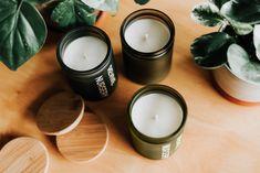Lavender Lemon SS18 // Safe-to-breathe soy candles