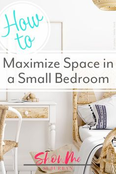8 Easy Ways to Maximize Space in a Small Bedroom I needed some tips and ideas for how to save space in my small bedroom. This article gave me so much info on tiny bedroom storage and organization hacks! It helped me maximize the space in my room. Blue Purple Bedroom, Purple Bedrooms, Blue Rooms, Bedroom Brown, Tiny Bedroom Storage, Small Bedroom Organization, Storage Spaces, Organization Hacks, Organized Bedroom