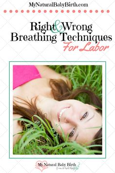 """Remember in the old movies when the pregnant woman is in labor and she's sitting there, calm as a cucumber because she's doing her quick """"hee, hee, whoo's?""""  Anyone can get through their labor with these simple little breathing patterns, right?  (*Did you see my dramatic eye roll?) There are right and wrong breathing techniques for labor.  http://mynaturalbabybirth.com/right-and-wrong-breathing-techniques-for-labor"""