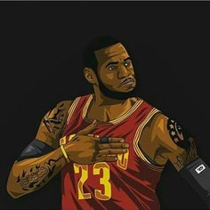 LeBron James Hail to the King Sketch | Sports Graphics ...