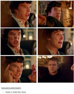 Pretty much. Sherlock Holmes Funny, Quotes Sherlock, Sherlock Fandom, Sherlock John, Watson Sherlock, Jim Moriarty, Fangirl, Mrs Hudson, Benedict Cumberbatch Sherlock