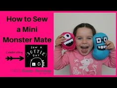How to Sew a Mini Monster Mate - Sew A Softie Day 2016! - Easy Sewing For Beginners