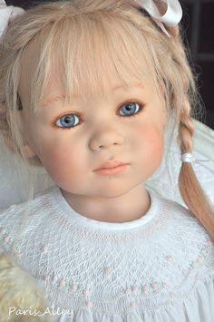 Sweet Jointed Annette Himstedt Doll Linchen 2006 Toddler | eBay