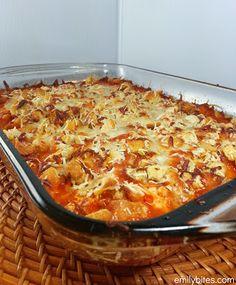 Best of 2012 Reader's Choice Award Winners - Chicken Parmesan Casserole