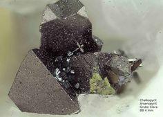 Chalkopyrit, Arsenopyrit :  Clara Mine,Rankach valley, Oberwolfach, Wolfach, Black Forest, Baden-Würtemberg, Germany Copyright © H. Stoya