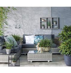 Intratuin loungeset Nannetta licht grijs