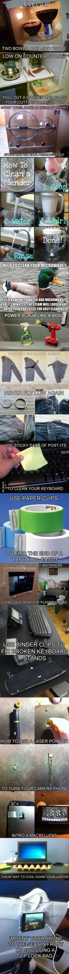 Clever Life Hacks to Simplify Your World