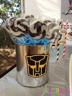 "Photo 1 of 19: Transformers / Birthday ""{Transformers Birthday}""   Catch My Party"