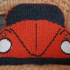 Beetle Cushion Cover Front- How cute is that?!!
