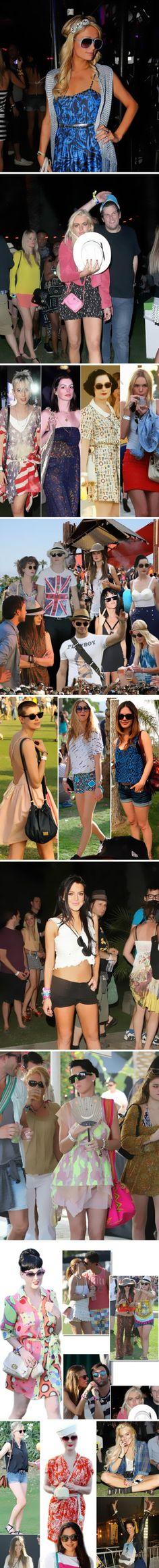 Celebrity Coachella Fashion 1 ~