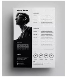 Resume Cover Letter Template, Modern Resume Template, Design Curriculum, Curriculum Vitae Layout, Resume Design Template, Design Templates, Resume Templates, Best Cv Template, Keynote Template