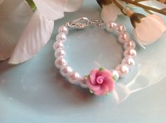 Check out this item in my Etsy shop https://www.etsy.com/listing/213415887/baby-bracelet-baby-gift-infant-jewelry